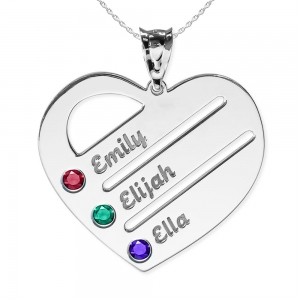 Personalized Mothers Jewelry Kids and Grandchildren