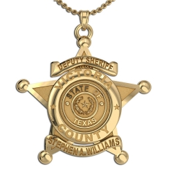 Personalized Texas Sheriff Badge w  Name  Rank   Dept