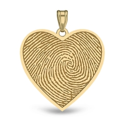 Heart Shaped Custom Print  Medal