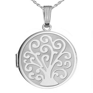 Tree of Life Family Lockets Personalized