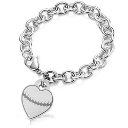 Custom Heartbeat Tiffany Style Custom Print Bracelet