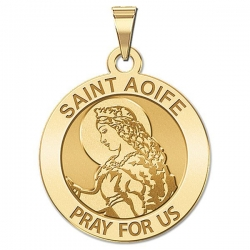 Saint Aoife Religious Medal   EXCLUSIVE