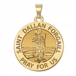 Saint Dallan Forgail Religious Medal  EXCLUSIVE