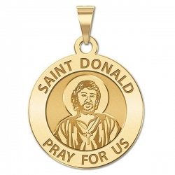 Saint Donald Religious Medal  EXCLUSIVE