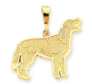 Irisih Setter Dog Pendant Or Charm