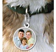 Round Pet s Picture Pendant