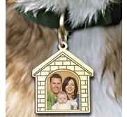 Doghouse Picture Pendant