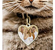 Heart with Border Photo Pendant Picture Charm