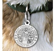 Saint Francis of Assisi    Protect My Pet  Pet Tag
