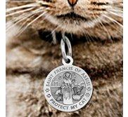 Saint Francis of Assisi     Protect My Cat   Pet Tag