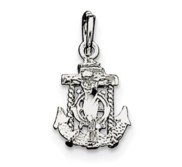 Sterling Silver Mariners Cross Charm