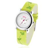 Bfly Peridot  August  Adjustable Children s Birthstone Watch