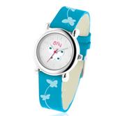Bfly Blue Topaz  December  Adjustable Children s Birthstone Watch