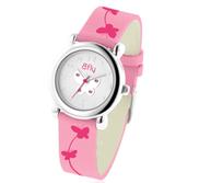 Bfly Pink Tourmaline  October  Adjustable Children s Birthstone Watch