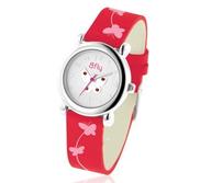 Bfly Garnet  Janurary  Adjustable Children s Birthstone Watch