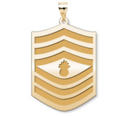 US Marine Corps Master Gunnery Sergeant Pendant