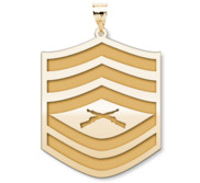 US Marine Corps Gunnery Sergeant Pendant