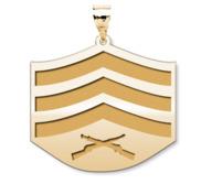 US Marine Corps Sergeant Pendant