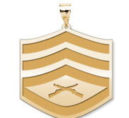 US Marine Corps Staff Sergeant Pendant
