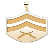 US Marine Corps Corporal Pendant