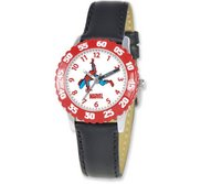 Spiderman 8 4  Leather Band With Buckle Closure