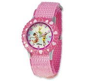 Tinkerbell   Fairies 7  Nylon Band With Velcro Closure