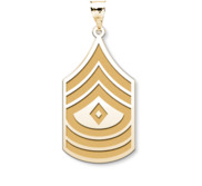 United States Army First Sergeant Pendant