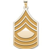 United States Army Master Sergeant Pendant