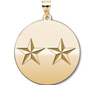 Unites States Navy Rear Admiral  upper half  Pendant