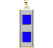 Unites States Navy Chief Warrant Officer 3 Pendant