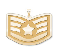Unites States Air Force Staff Sergeant Pendant