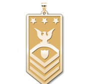Unites States Coast Guard Master Chief Petty Officer of the Coast Guard Pendant