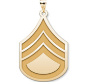 US Army National Guard Staff Sergeant Pendant