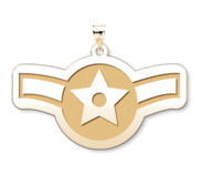 U S Air Force National Guard Airman Pendant