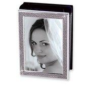 White Glitter Photo Album