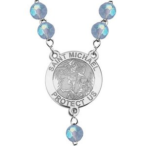 Saint Michael Rosary Beads  EXCLUSIVE