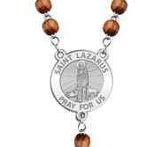 Saint Lazarus Rosary Beads  EXCLUSIVE