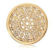 Nikki Lissoni Gold tone 1 1 4 Inch Indian Summer Coin