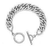 Nikki Lissoni Silver plated Toggle Bracelet