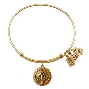 Wind   Fire  Miraculous Medal  Expandable Bracelet