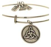 Wind   Fire  Triquetra  Expandable Bracelet