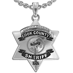 Cook county sheriff badge with black enamel pg86000 aloadofball Gallery