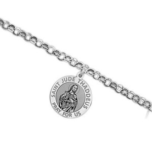 Saint Jude Religious Anklet    EXCLUSIVE