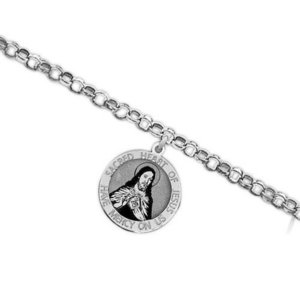 Sacred Heart of Jesus Religious Anklet    EXCLUSIVE