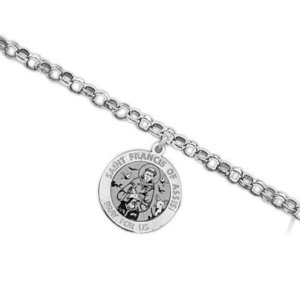 Saint Francis of Assisi Religious Anklet    EXCLUSIVE