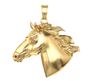 Race Horse Medal