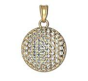 Engravable Diamond Studded Golf Ball Disc Medal