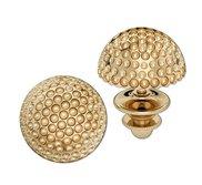 Golf Ball Post Earrings