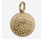 Golf Ball Sphere Charm