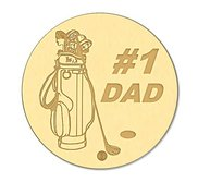 1 Dad Golf Ball Marker